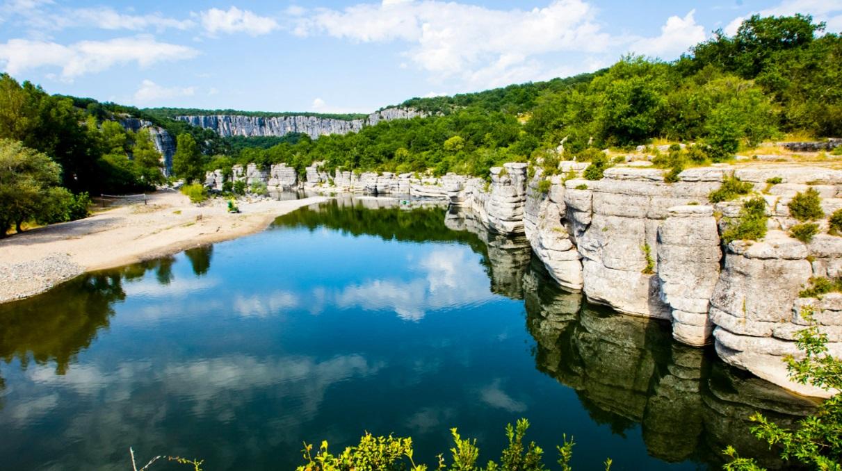 L'Ardèche, une région idéale pour les campeurs