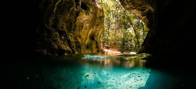 Voyage au Belize : grottes d'Actun Tunichil Muknal, une vraie merveille !