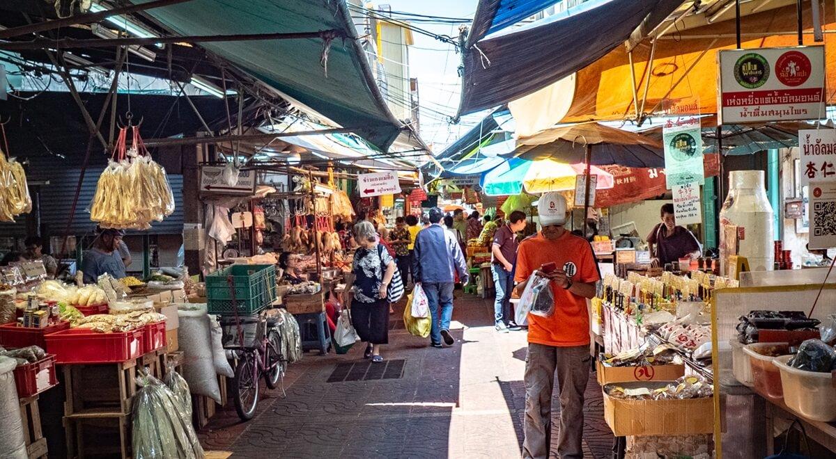 Faire ses courses et son marché en Thaïlande