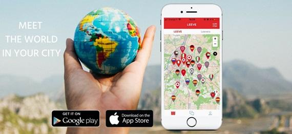 LEEVE, une appli gratuite pour des échanges linguistiques hauts en couleur