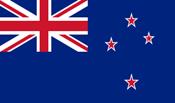 """drapeau Nouvelle Zélande - DE"""""""