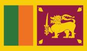 "drapeau Sri Lanka"""
