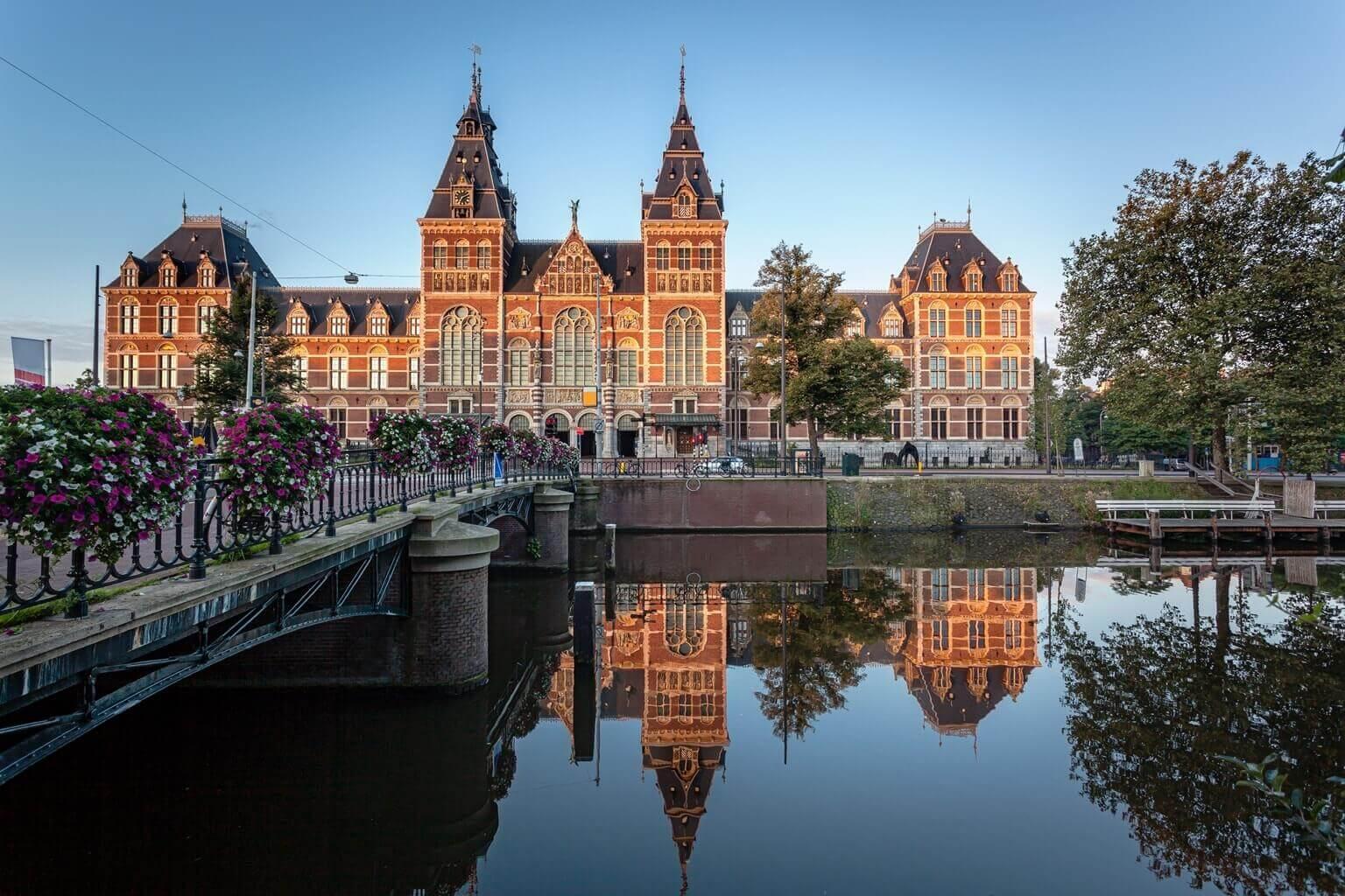 Rijksmuseum, musée hollandais, Amsterdam, Pays-Bas