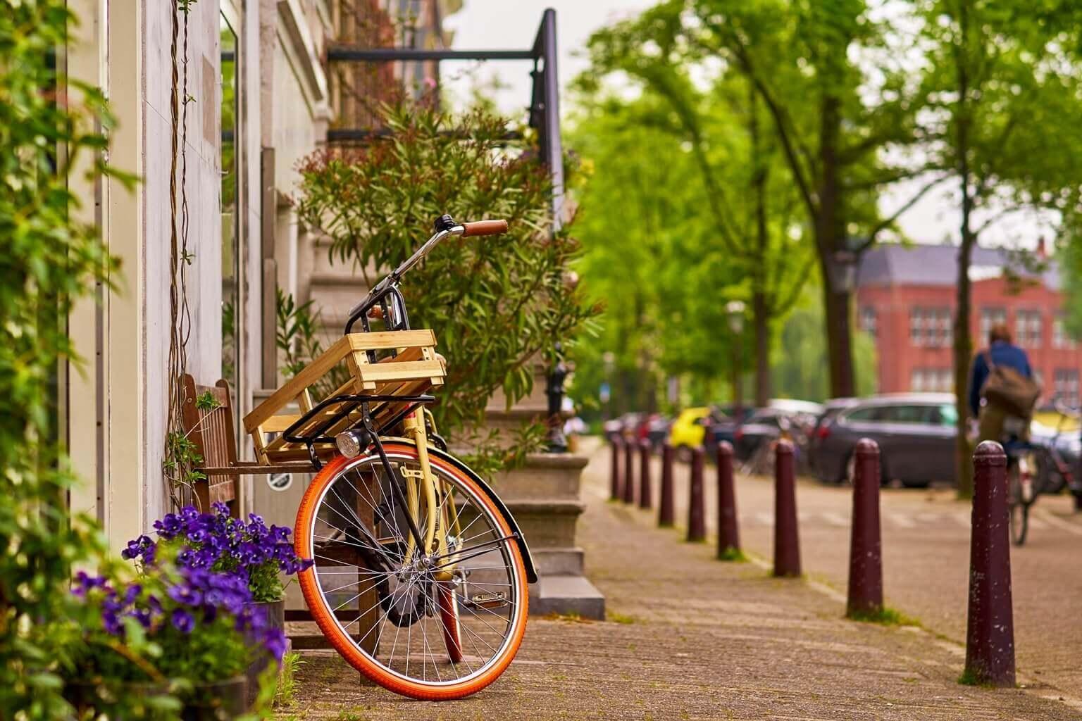 faire du vélo à Amsterdam, Pays-Bas