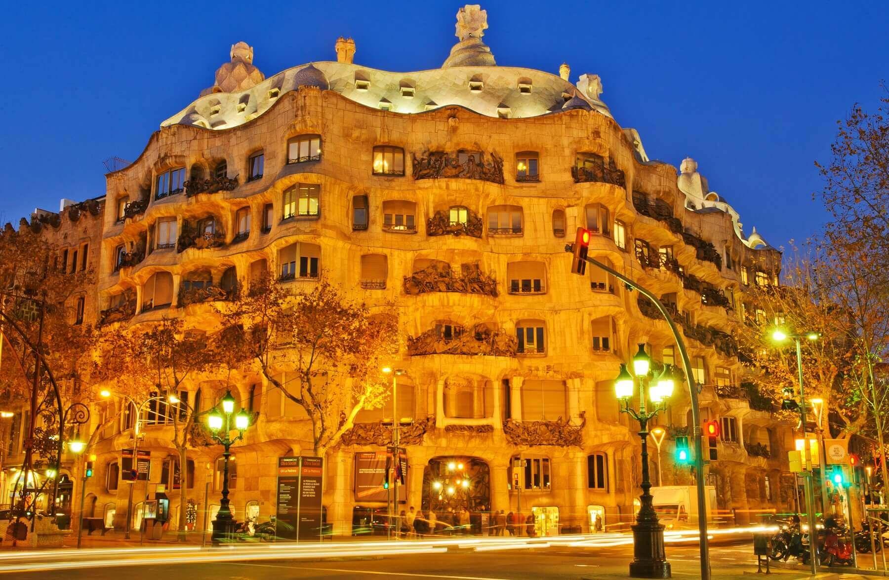Vister Barcelone La Casa Mila