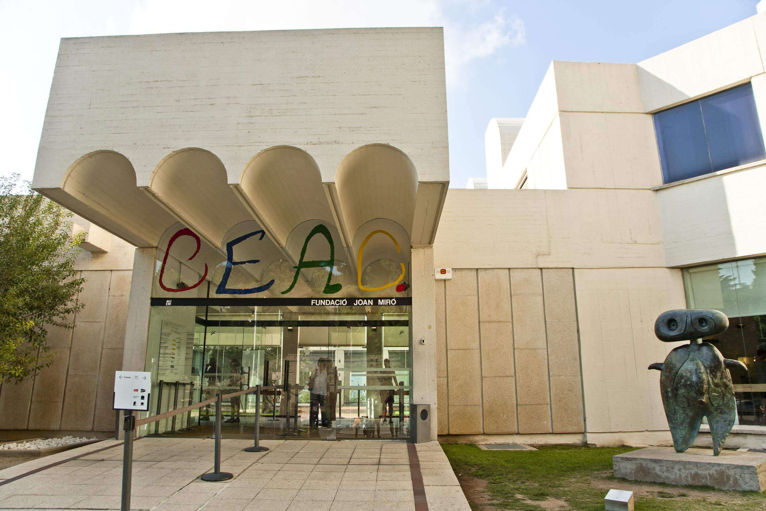 Fondation Joan Miro à Barcelone