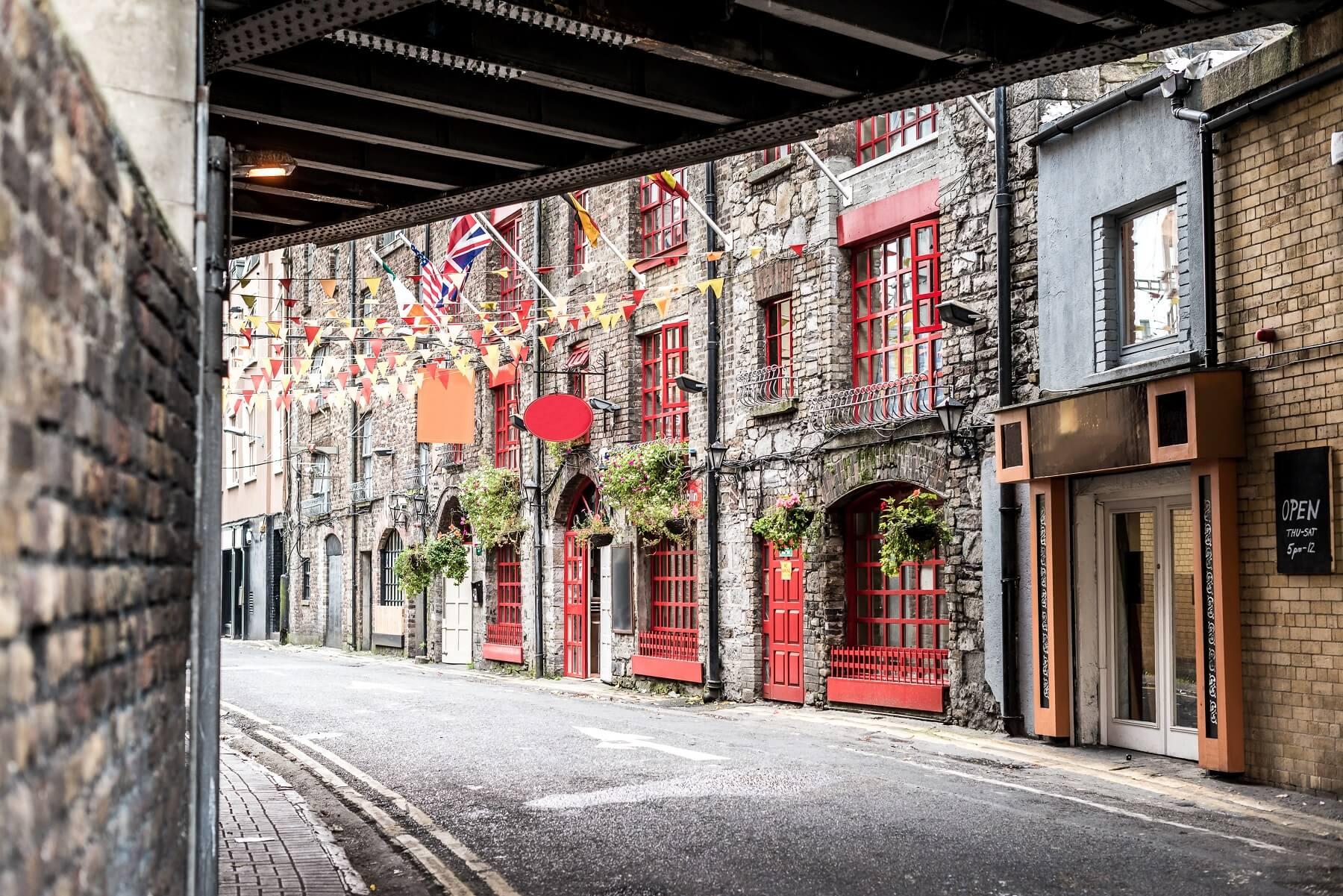 Principaux quartiers de Dublin