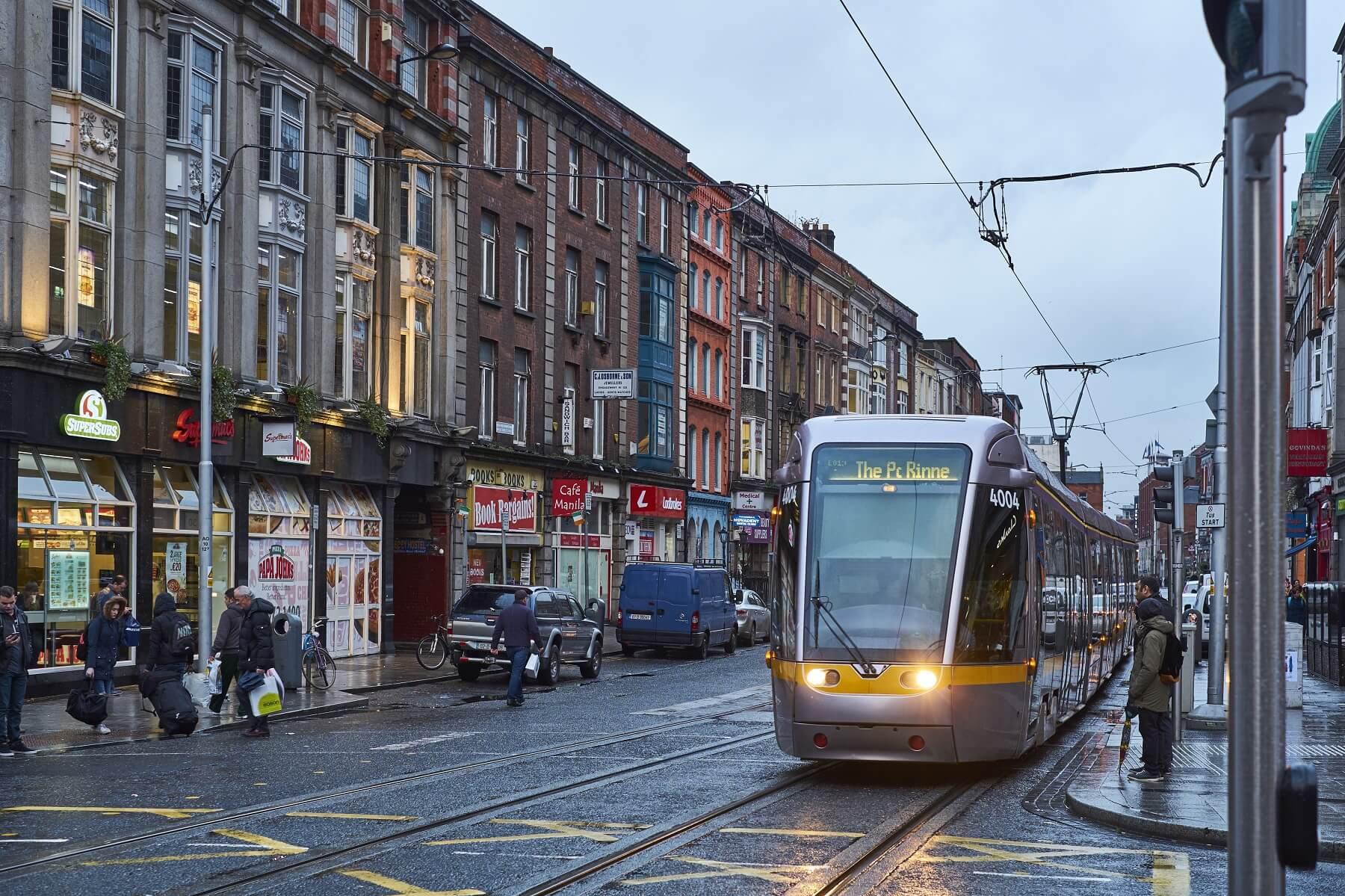Transports en commun à Dublin