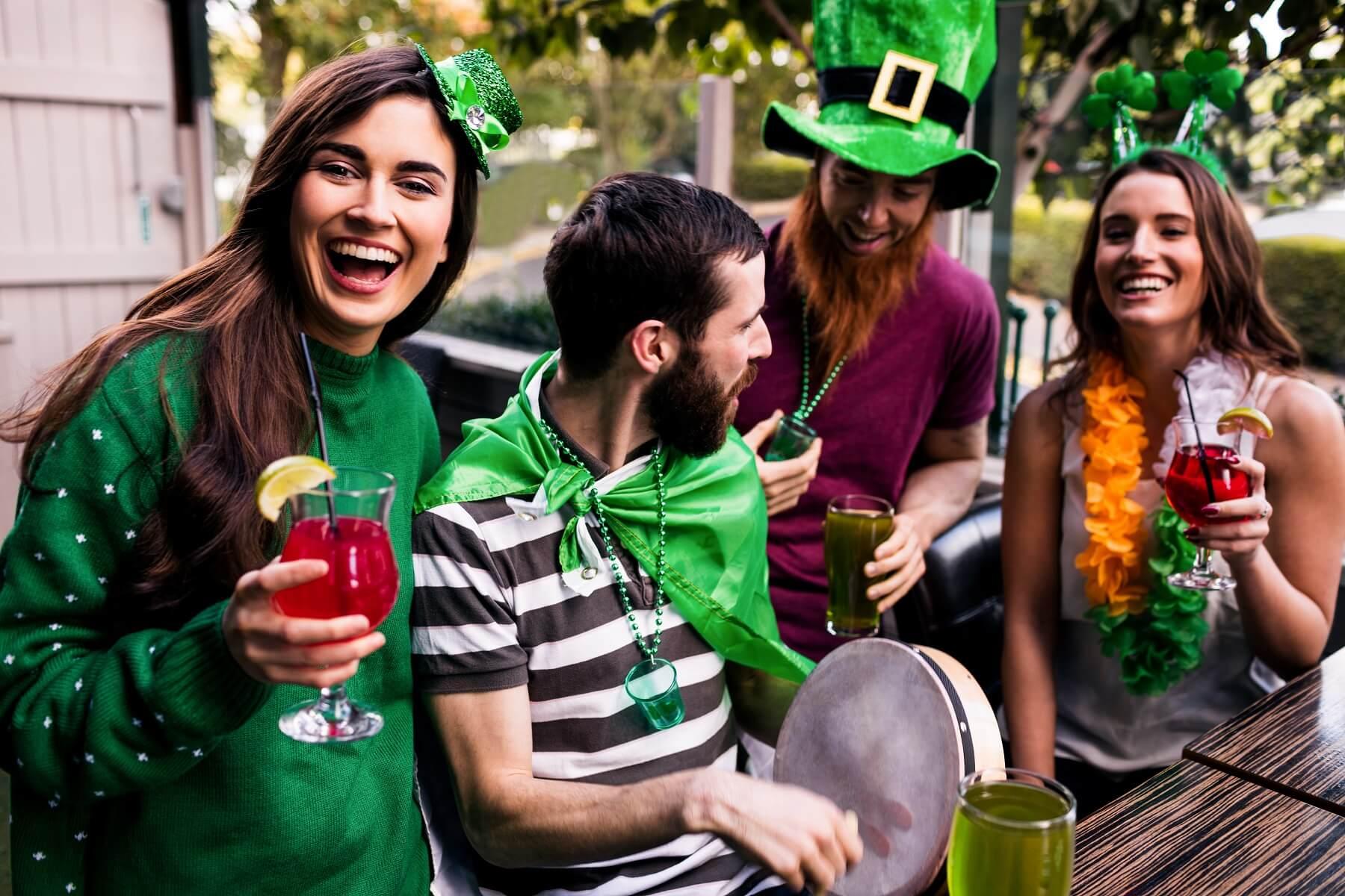 la Saint Patrick, événement important à Dublin