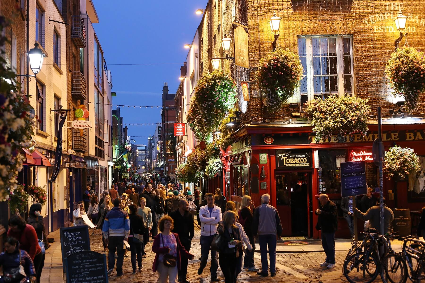 Vie nocturne à Dublin : pubs, bars, restaurants, clubs