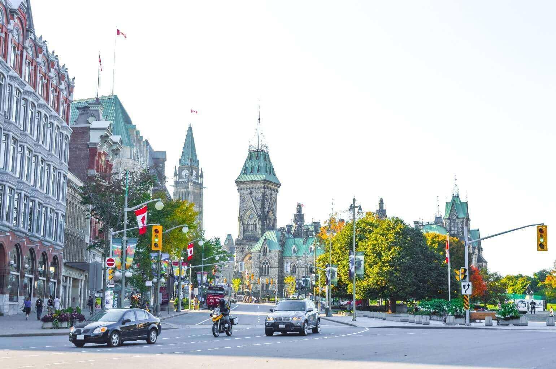 Trafic, circulation à Ottawa, Canada