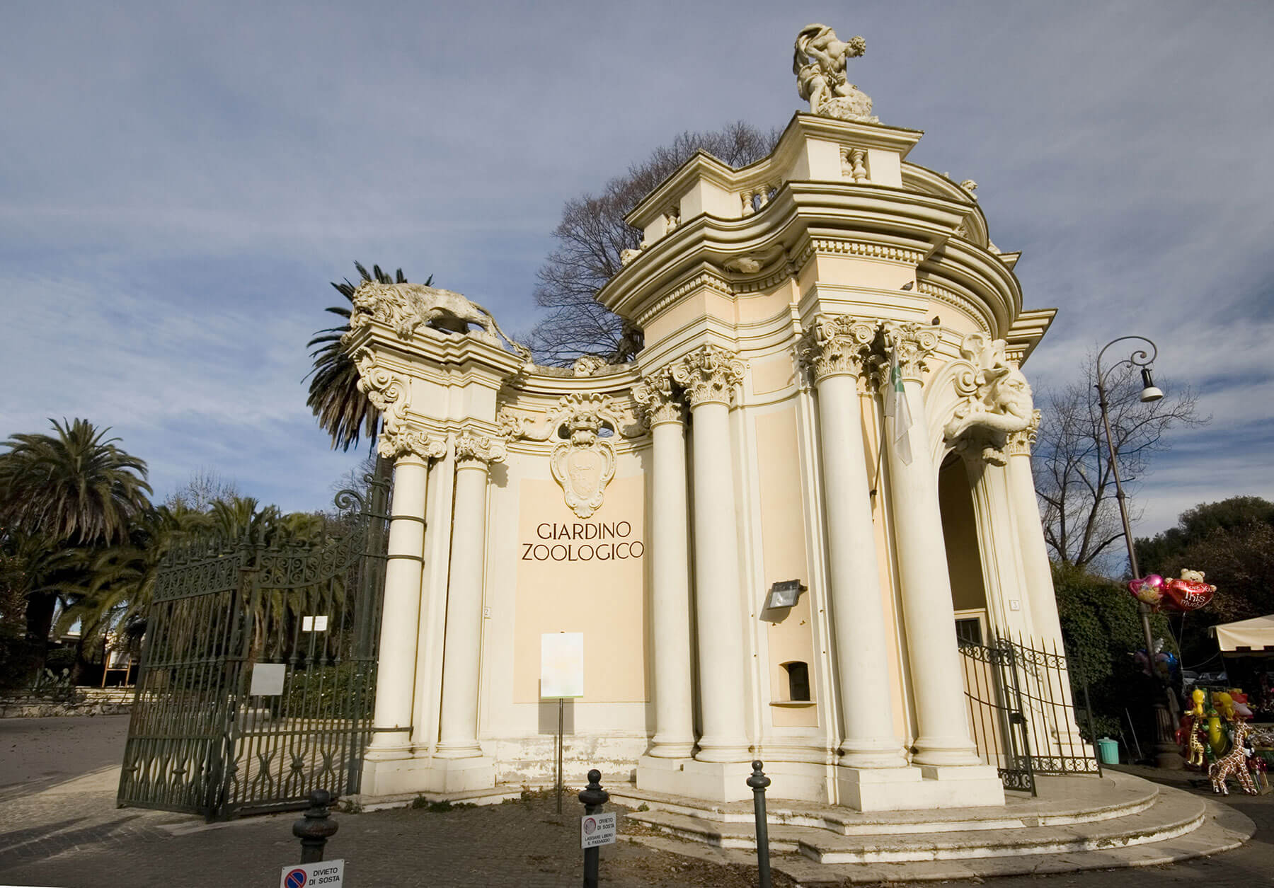 Parc d'attraction à Rome