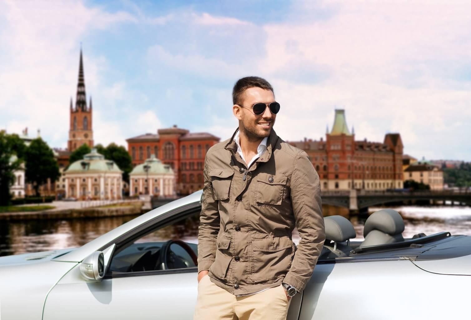 Prendre la voiture en Suède
