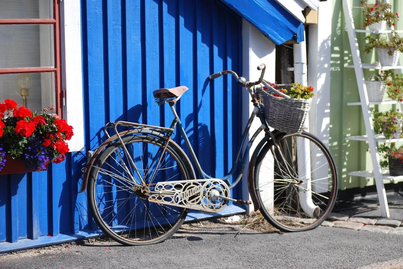 Faire du vélo à Karlskrona en Suède