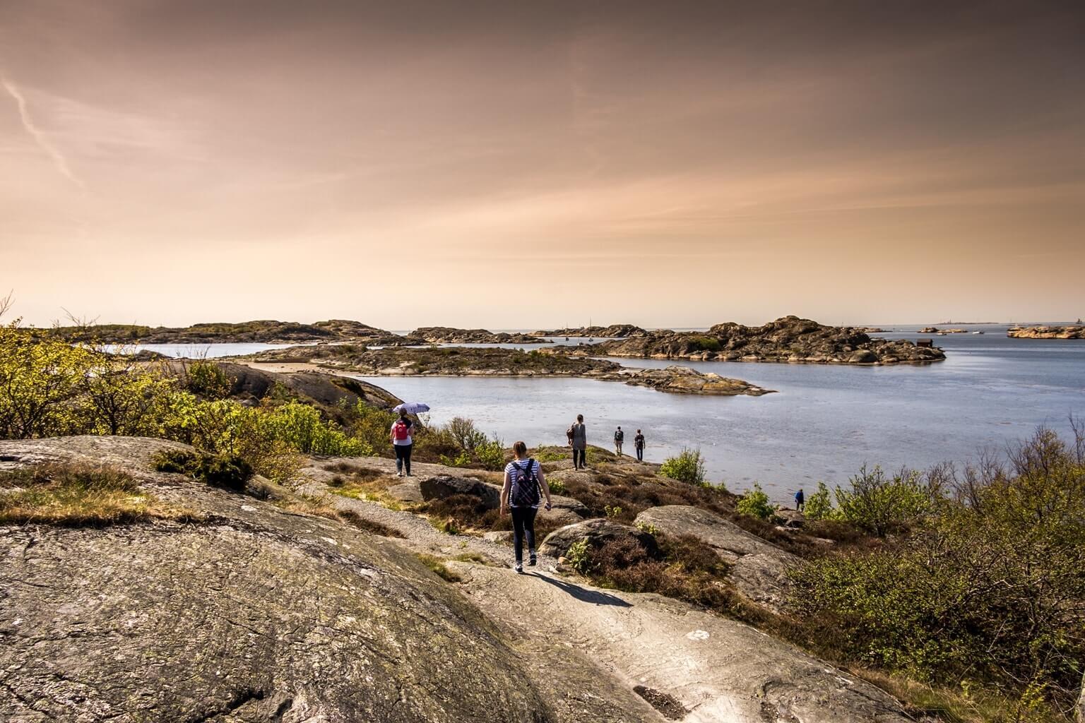 Paysage, météo et climat en Suède
