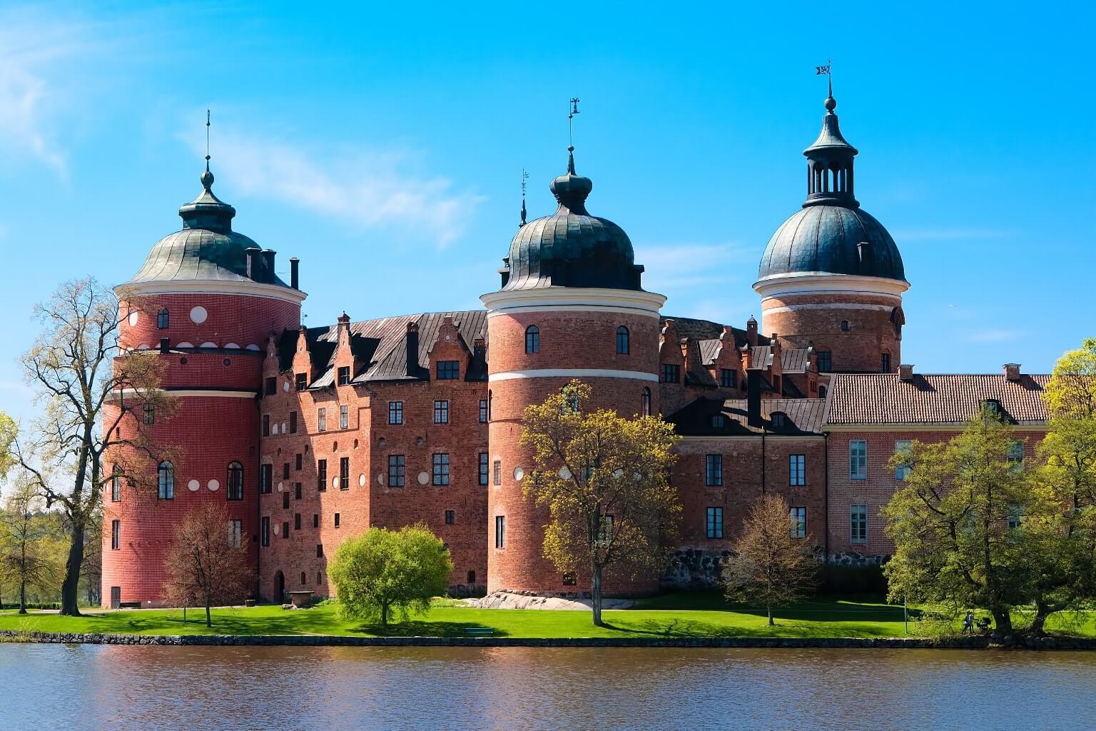 Le Château de Gripsholm, Suède