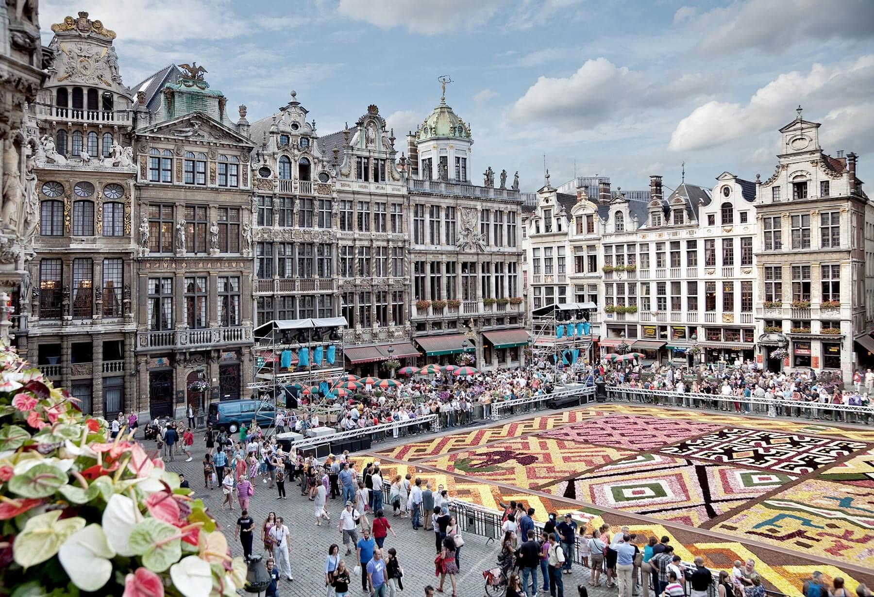 visiter Bruxelles : festivals