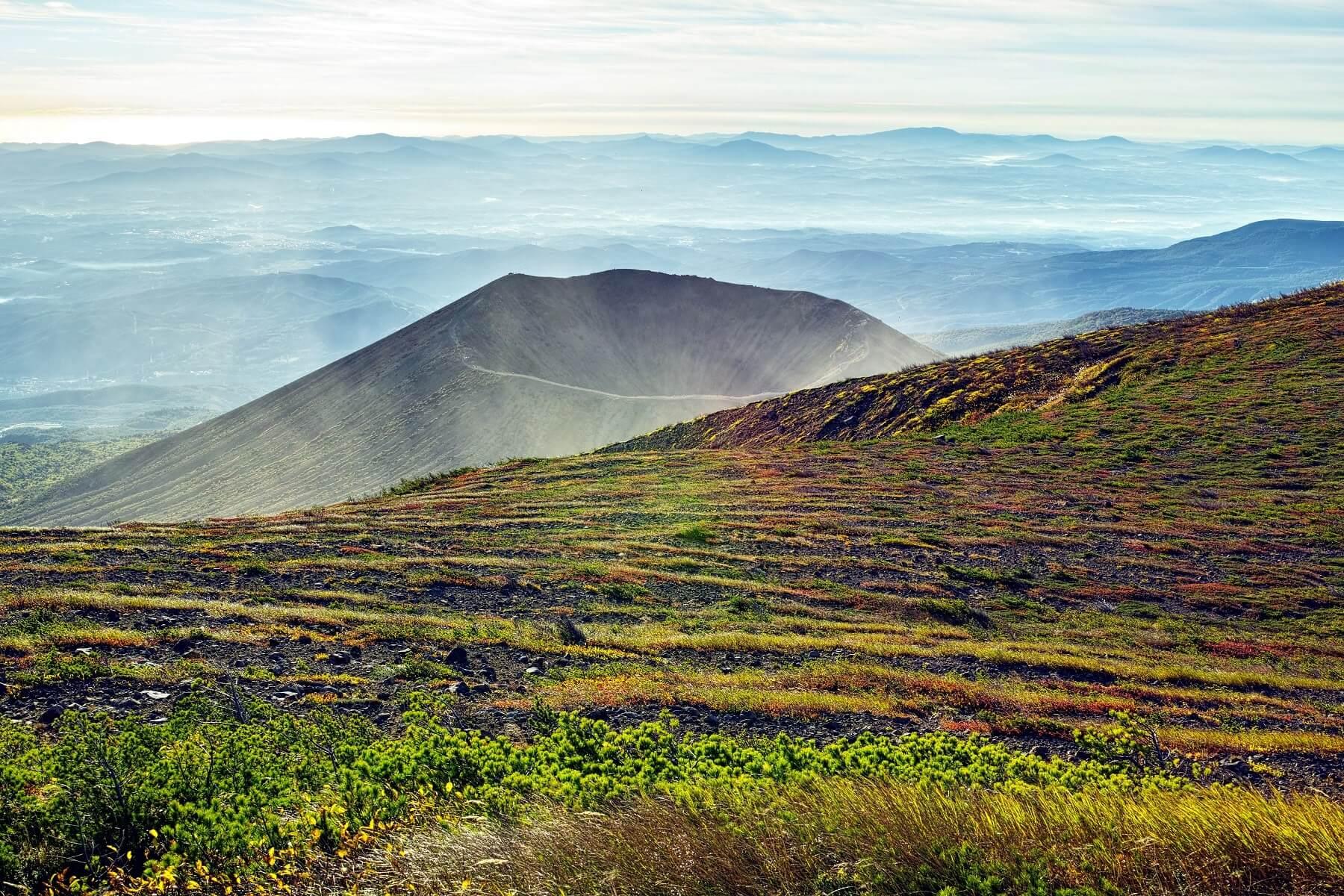 Mont Azuma, Fukushima, Japon