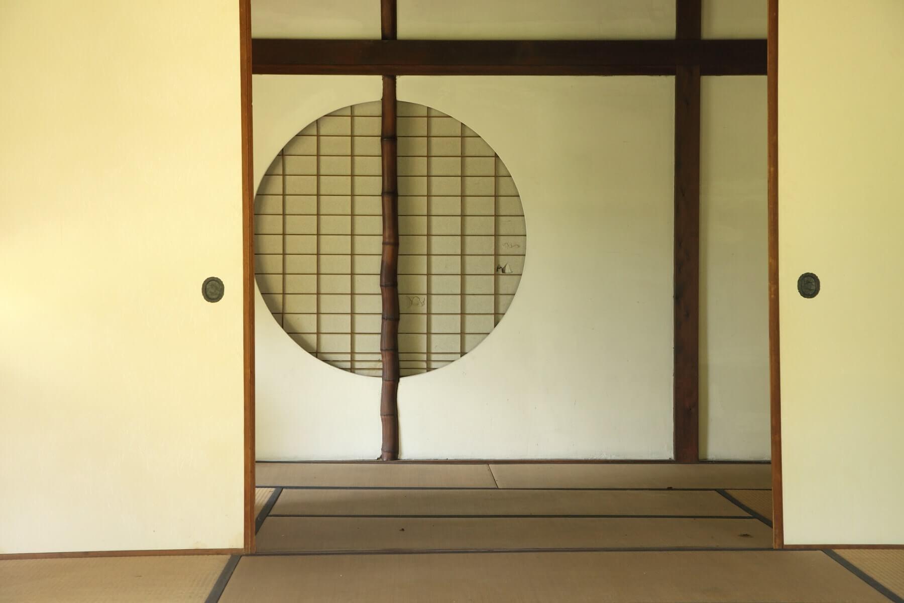 Intérieur traditionnel d'une maison japonaise