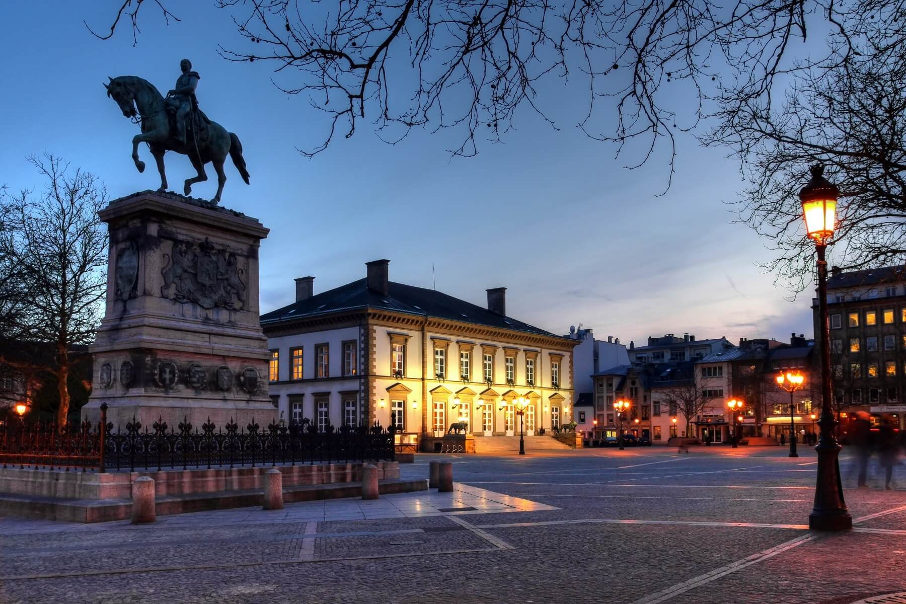 Place Guillaume II (Knuedler) Luxembourg city