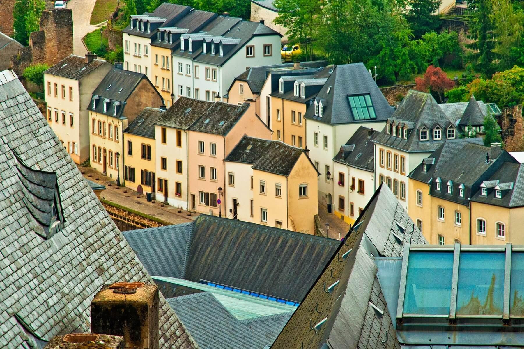 Toits de Luxembourg Ville