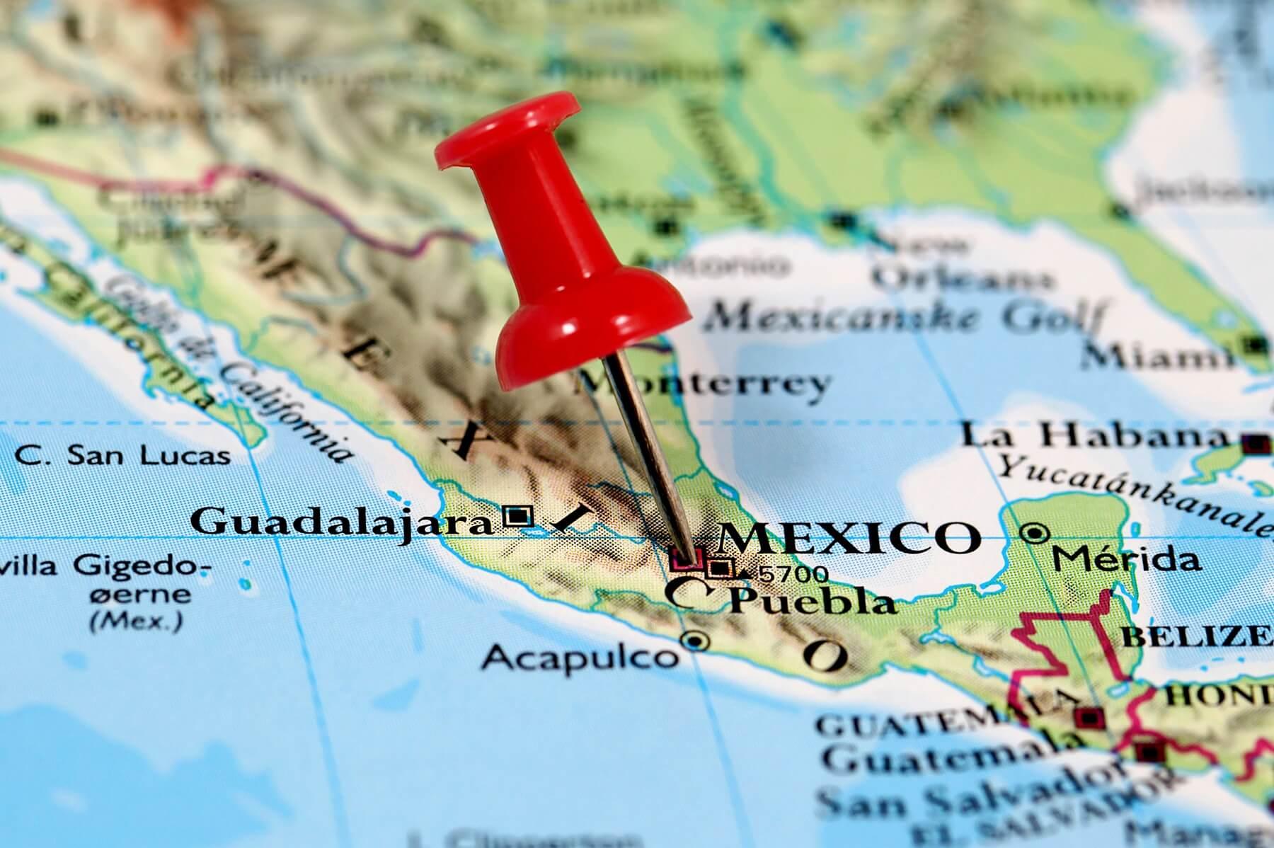 Voyage au Mexique : formalités