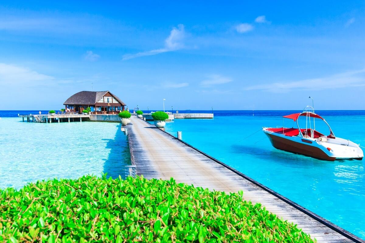 transport aux Maldives