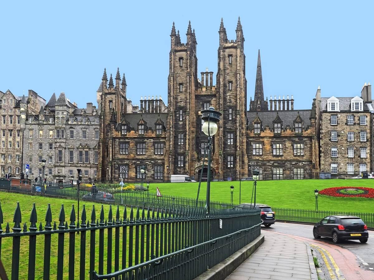 partir étudier à Edimbourg