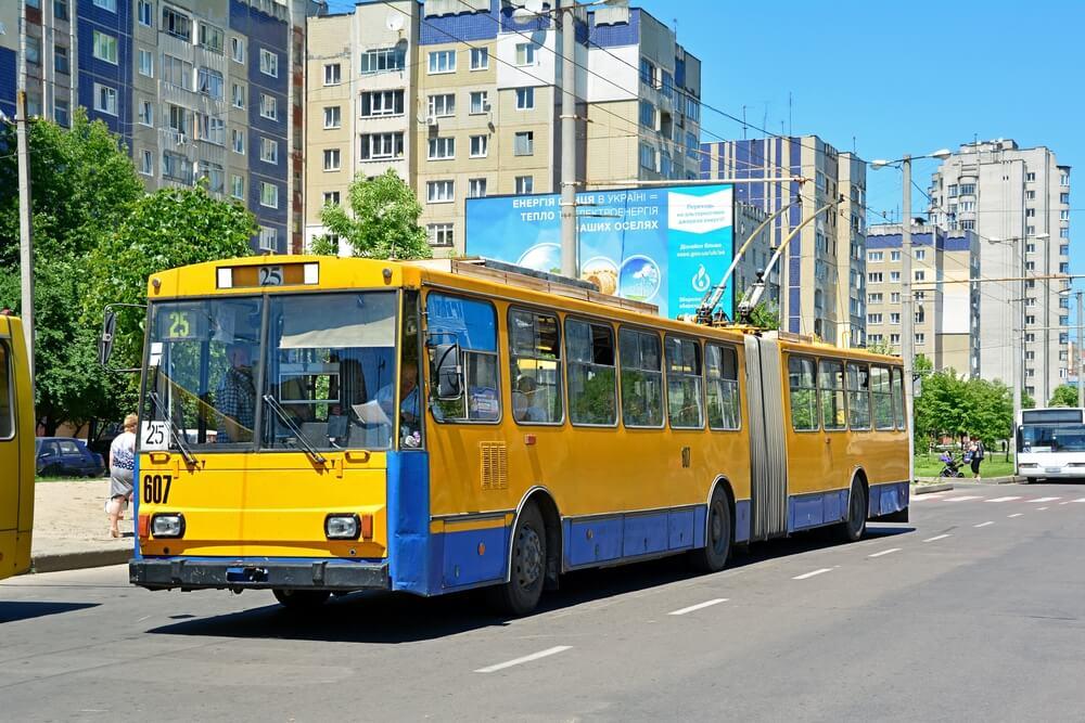 transport en Ukraine