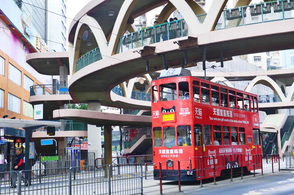 transport à Hong Kong