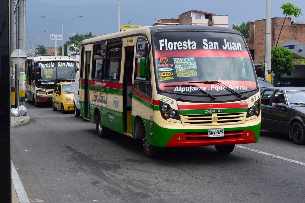 transport en colombie