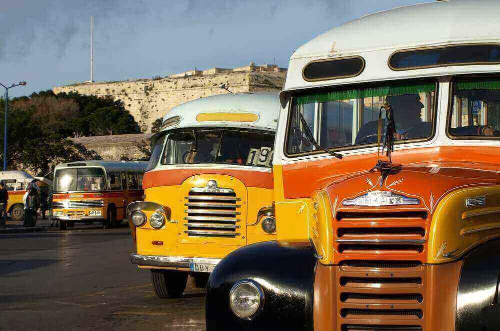 transports à Malte