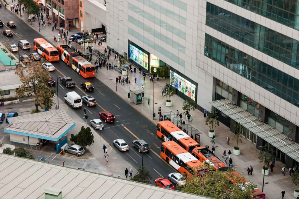 transport à Santiago du Chili