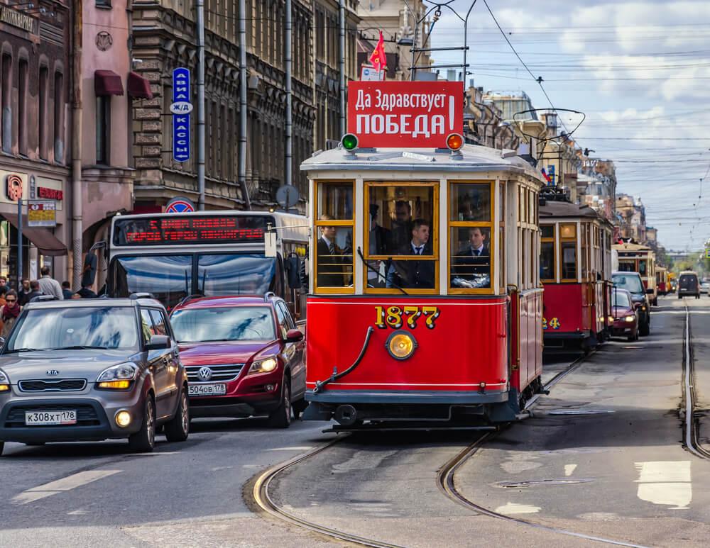 transport à Saint Pétersbourg