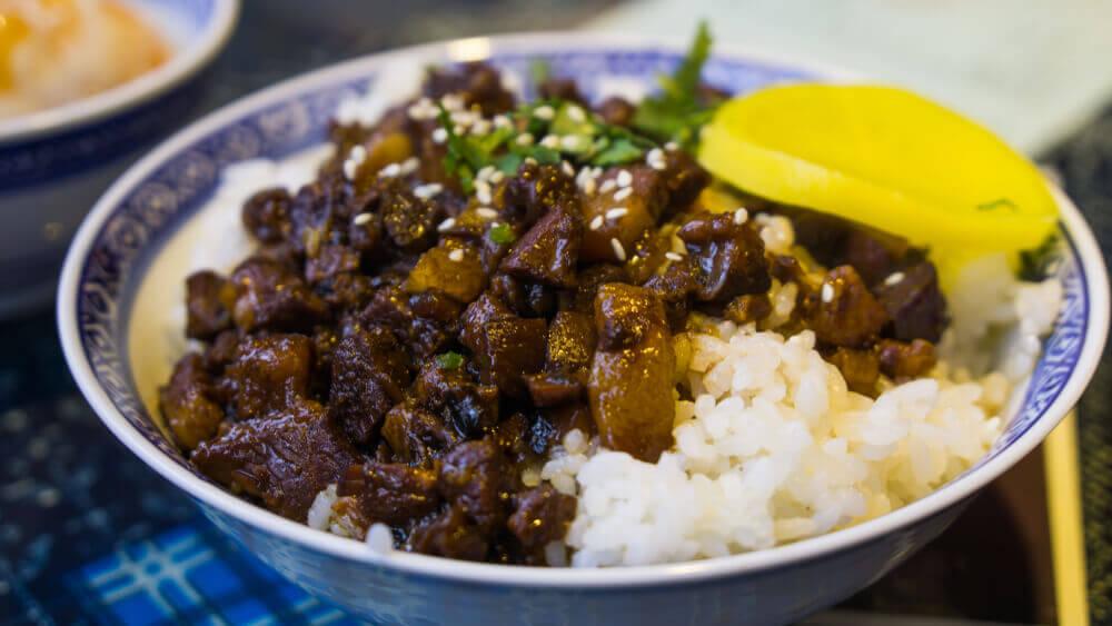 voyage à Taiwan : cuisine