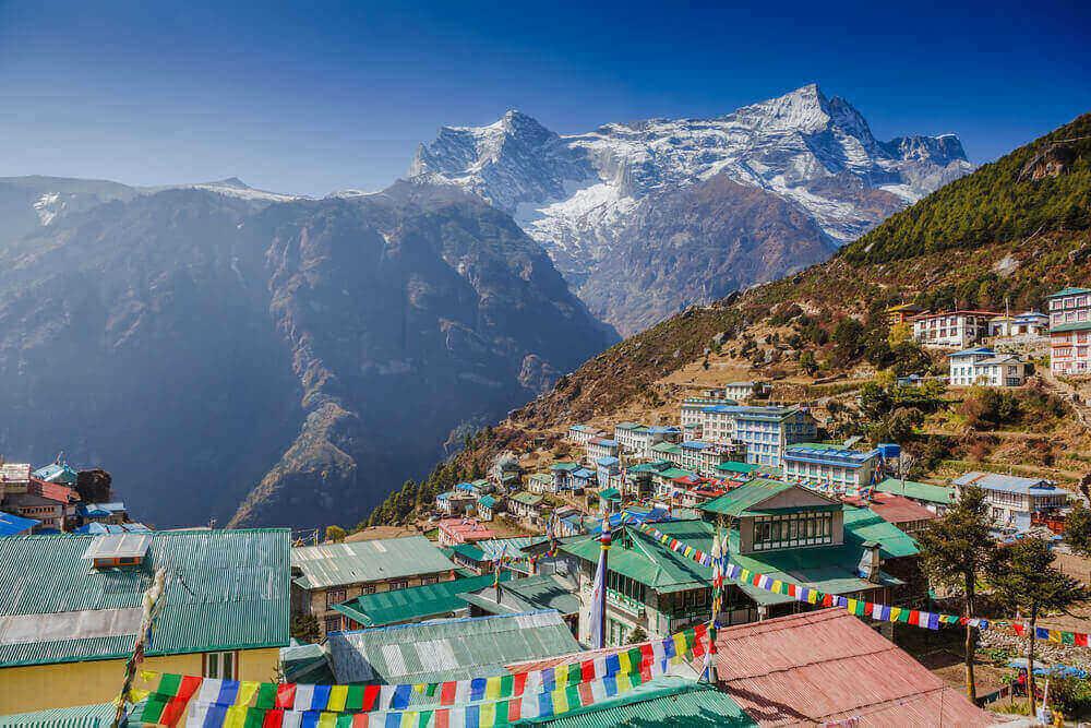 logement au Népal