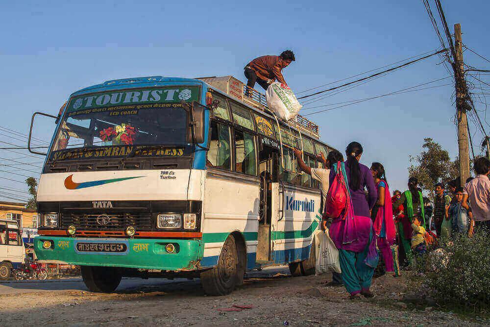 transport au Népal