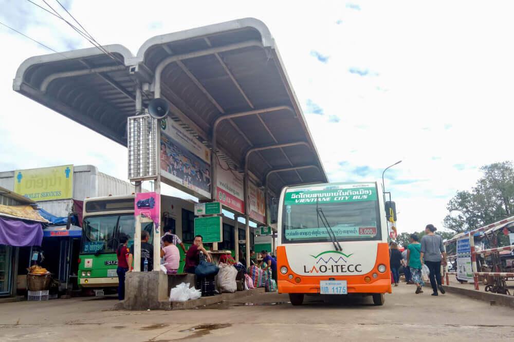 transport à laos