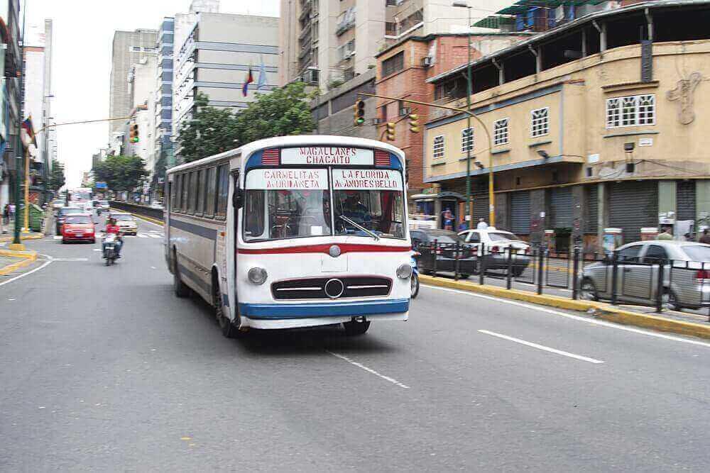transport au Venezuela
