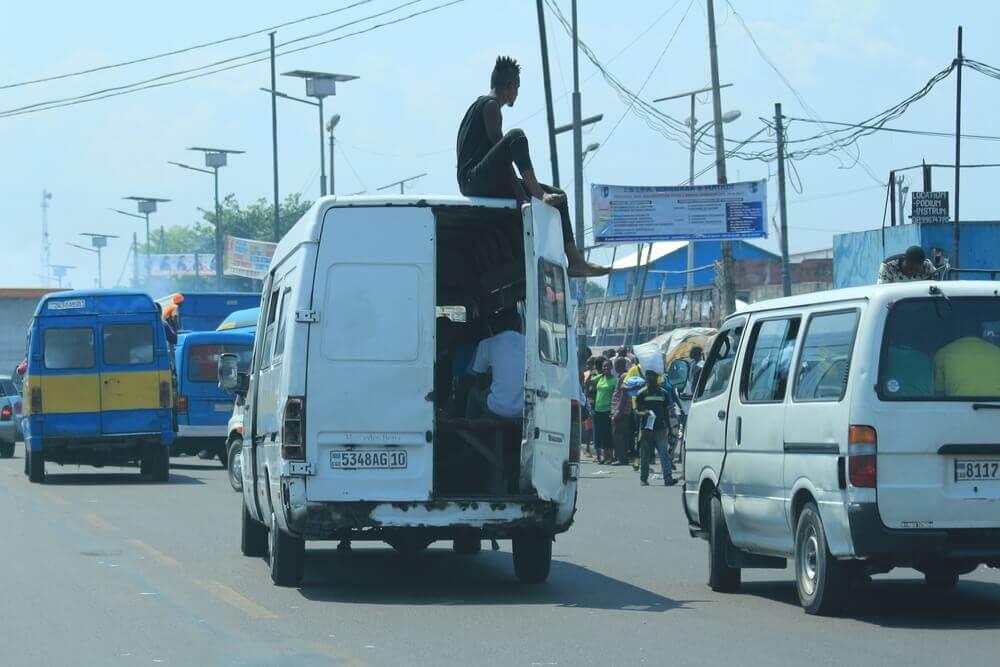 transport au Congo