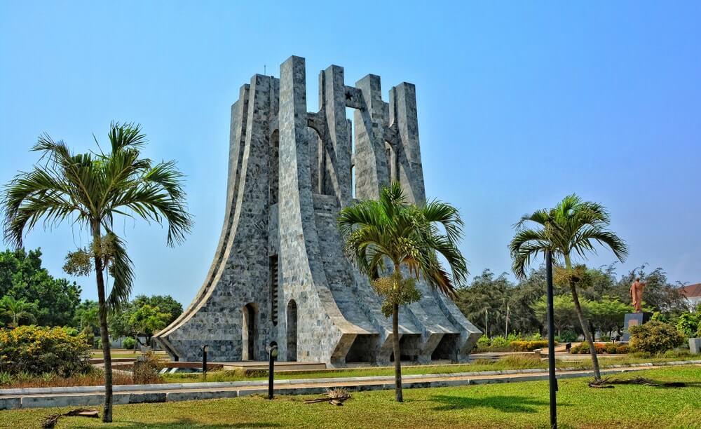 monuments au Ghana