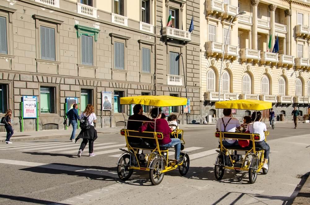 Transport à Naples