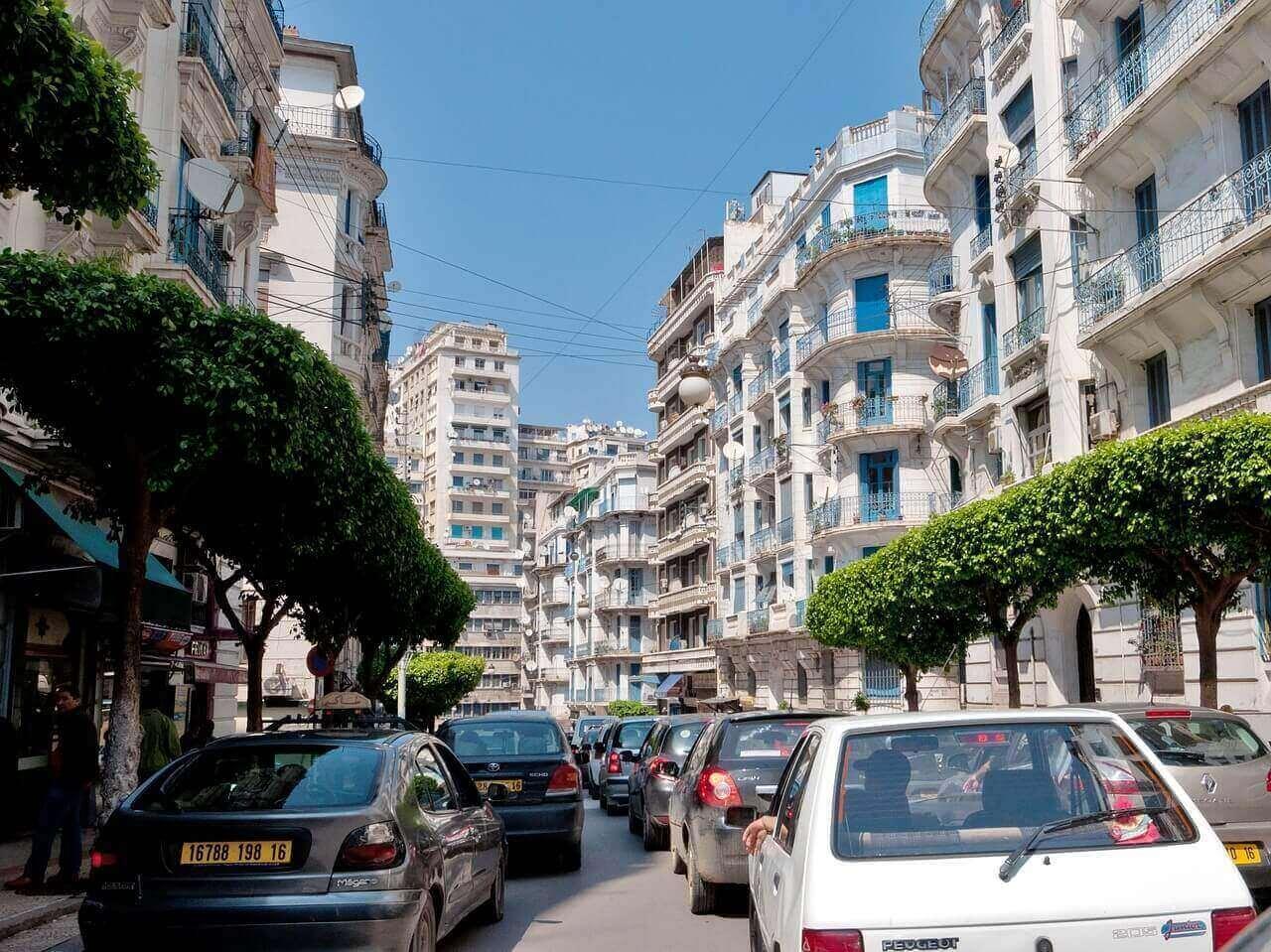 transport en Algérie
