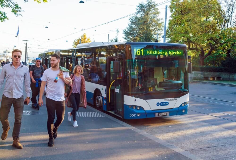 transport à Zurich