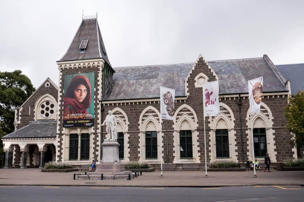 Musée de Canterbury à Christchurch