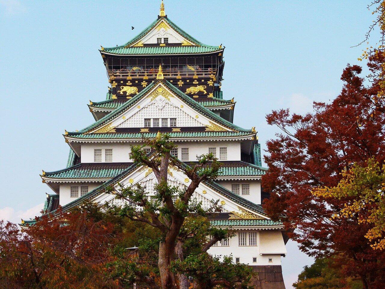 château à Osaka