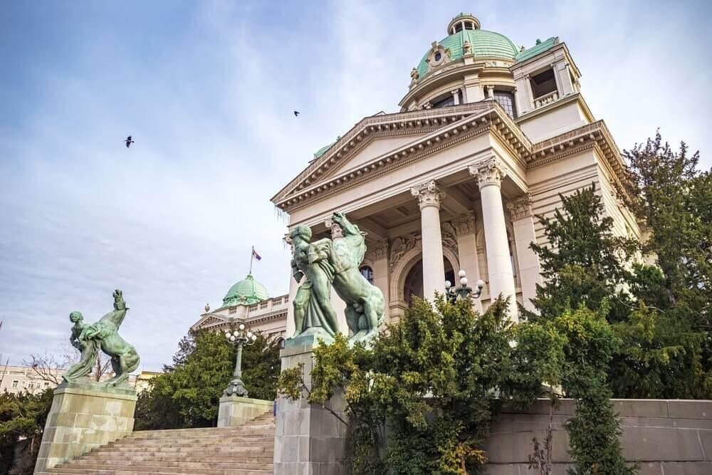 monuments en Serbie