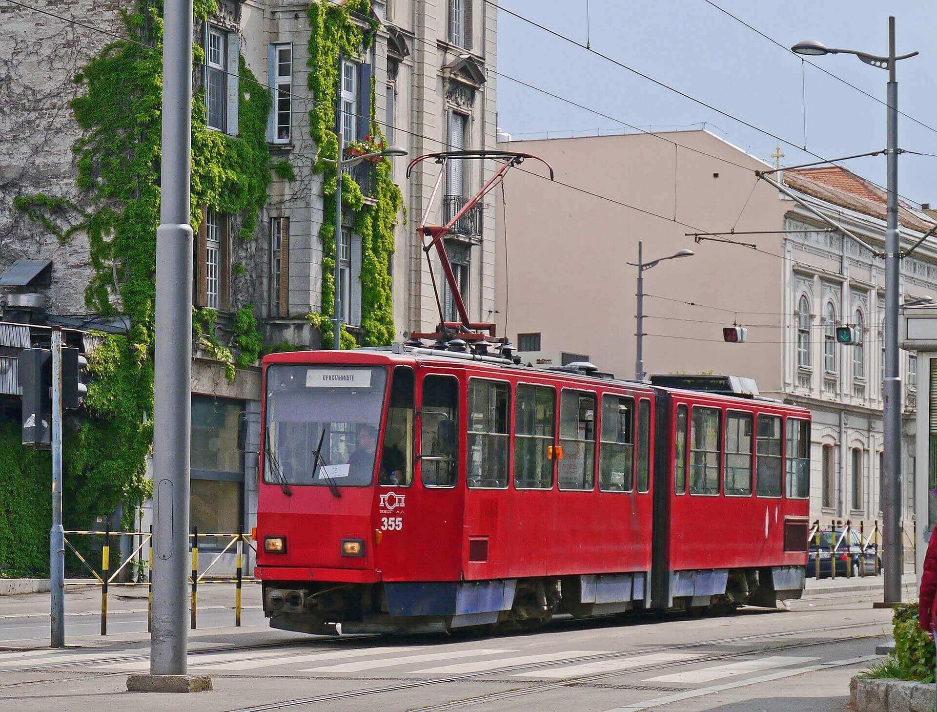 transport à Belgrade