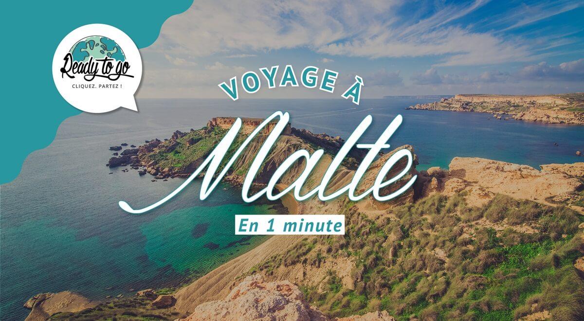 Voyage à Malte en 1 min