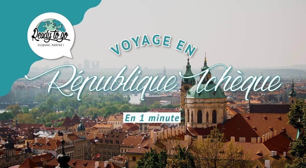 Voyage en République Tchèque en 1 min